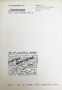 Cartella Serigrafica