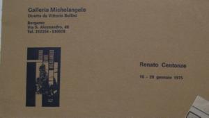 Bergamo, 1975, grafica