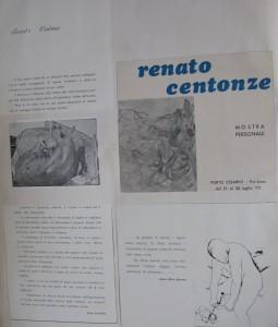 brochure mostra Porto Cesareo (Lecce), Pro Loco, 21-30 luglio 1973