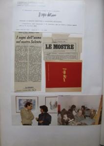 il segno dell'uomo, Lequile,1982