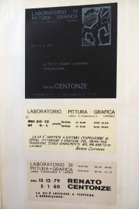 locandina laboratorio di grafica, 1979-80