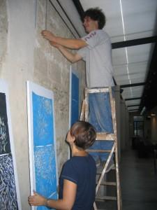Frammenti di suono, Cantieri Koreja, 2005 allestimento2