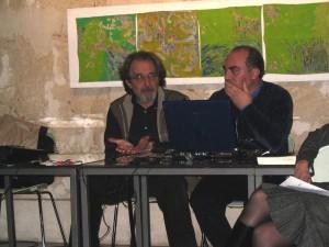 Renato Centonze e il compositore Biagio Putignano