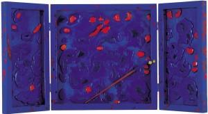 Renato Centonze, movimenti della notte...il cielo...le nuvole...., pittoscultura sonora, 1999