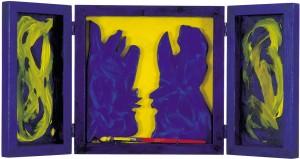 Renato Centonze, il segno...la forma...il suono...il fluire, pittoscultura-sonora 1999