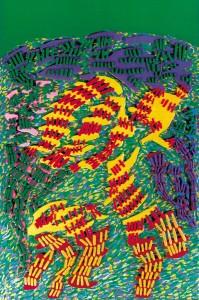 Renato Centonze, La grande danza, pitto-scultura-sonora, 1995