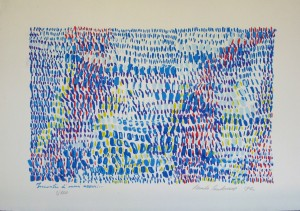 Renato Centonze, Incontro di mari azzurri, 1992     2/100
